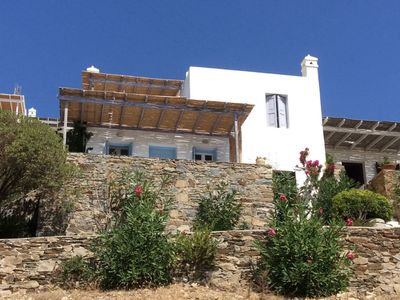 Photo for Sea View Villa at Livadi - Serifos Island