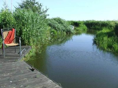 "Photo for 2 - RW (up to 4 persons) - Directly on the backwaters - Apartment ""Balmer See"""