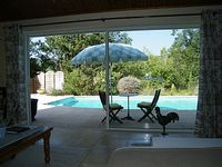 Beautifully maintained. A very private haven of peace and tranquility,