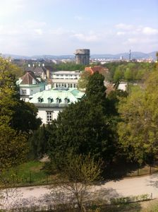 Photo for Small apartment, right on the Augarten (Baroque park) and immediate center location