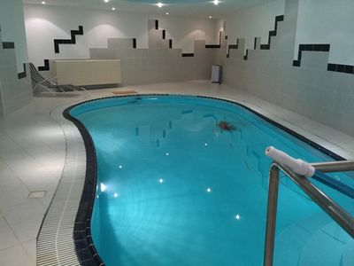 Furnished accommodation with indoor pool