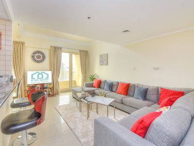 Photo for Cozy 3 BR apartment with Full Sea and Marina Views