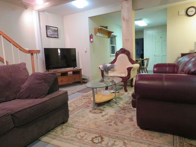 Photo for Large & Cozy Apt/15 min to beach(PLZ read B4 book)