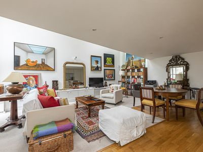 Photo for Artsy studio flat in Fulham, near the River Thames