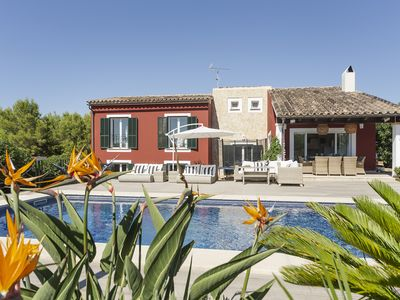 Photo for Villa La Calma for 8 - Modern, Pool, BBQ, WiFi, AC