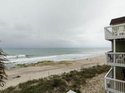 Photo for Beautifull Oceanfront 2 bedroom end unit condo at Ocean Dunes