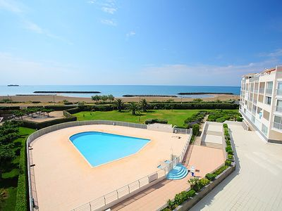 Photo for One bedroom Apartment, sleeps 4 in Le Cap D'Agde with Pool and WiFi