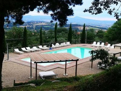 Photo for One bedroom Villa, sleeps 4 in Fiordini with Pool, Air Con and WiFi