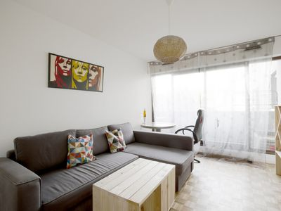 Photo for Lovely 1 bedroom with balcony#Paris 13