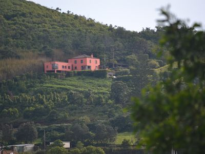 Photo for Pico Cavaco - a house on the hillside and stunning views
