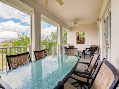 Photo for 10 miles to Disney; condo w/ pool, cabana, hot tub, & more - snowbirds welcome!