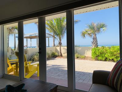 Photo for BEACHFRONT RETREAT - Escape to Paradise, Peace, & Relaxation!!!