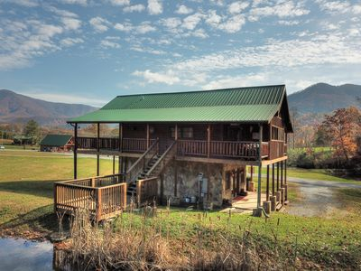 Photo for A Fishing Hole is an Amazing 1 Bedroom Cabin with 1/2 acre Fishing Pond!