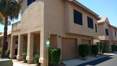 Photo for Cozy Townhouse in Great Mesa Location near Golf and Spring training