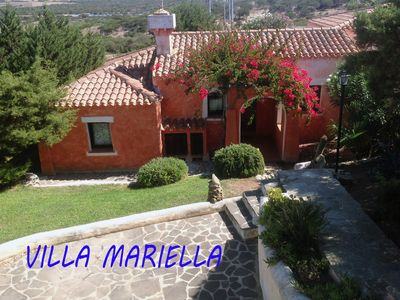 Photo for Portion of semi-detached Villa,  with 5 beds, garden and BBQ