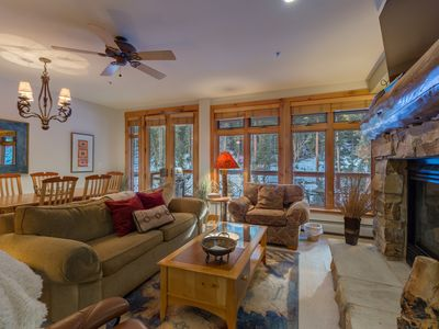 Photo for 2 Balconies, 2 King Beds, Private Laundry, Gourmet Kitchen, Ski-In/Ski-Out