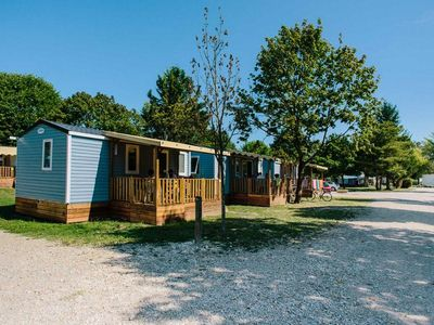Photo for Camping Les Plages de L'Ain *** - Mobil Home 3 Rooms 4 People