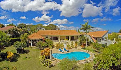 Photo for The perfect holidays: Caribbean villa with pool/tennis/basket/soccer near beach