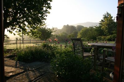 The fully stocked gardens are a wonderful place to relax