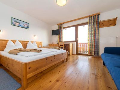 Photo for Double room with south-facing balcony - Almhotel Fichtenheim