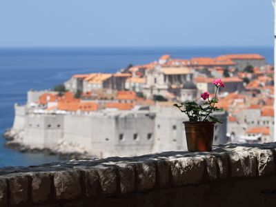 Photo for Amazing view of the Old town from beautiful big terrace