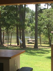 Lake view off of deck