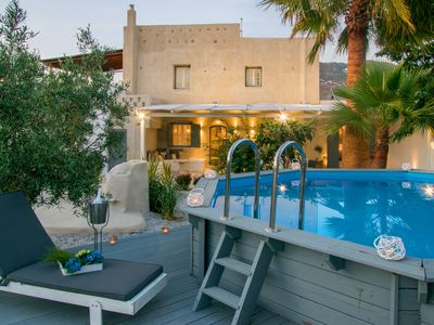 Photo for Villa with private pool, 90m² and 320m² garden-patio
