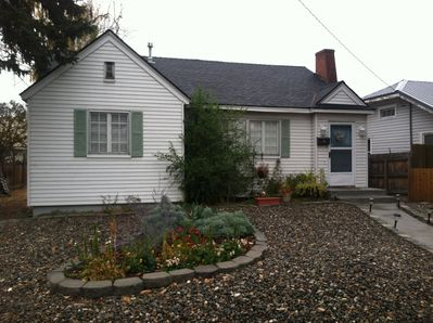 Easy to maintain Landscaped Front Yard!!  Newer Walkway and steps as well!