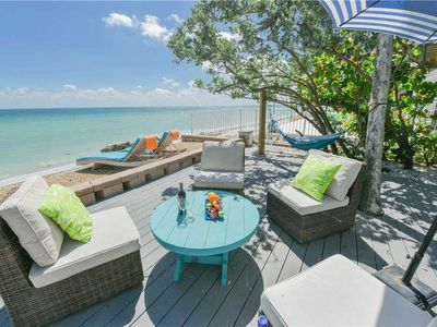 Photo for Bay Front Luxury, Private Pool, and September Savings! Breeakaway: 4 BR / 2 BA