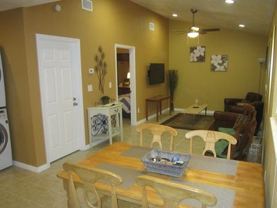 Photo for Lutz Cottage Apartment - Beaches / Busch Gardens / Disney / USF / Pets
