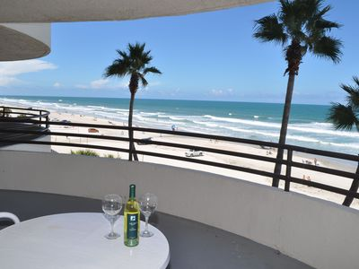 Photo for Spectacular Direct Ocean Front 2B/2B Condo -Large Private Balcony, Views Galore!