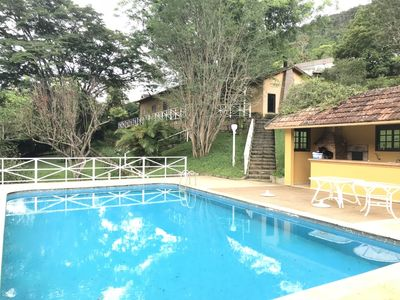 Photo for MAGNIFICENT HOUSE IN THE SERRA - ITAIPAVA (10 MIN CENTRO)