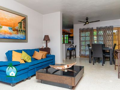 Photo for Villa Tropical 3Bd & 4Bath Next to the Beach