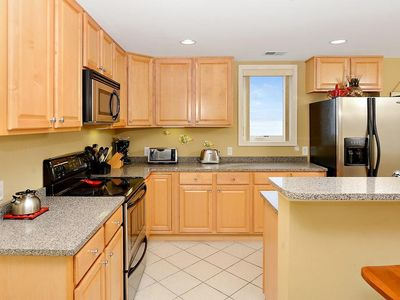Photo for Sleeps 9, Spacious 3 BR Ocean Block Condo with Ocean View!