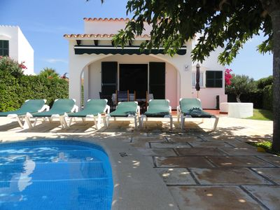 Photo for Villa sea view with garden and private swimming pool, Air Conditioning, Free Internet - 6 people
