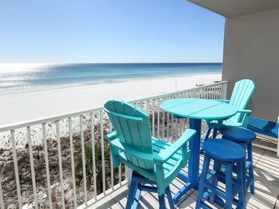 """Photo for Island Princess Unit 511 SPECTACULAR VIEWS! Gulf Front Gorgeous Views, 55"""" Inch Flat Screen TV"""