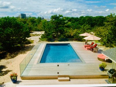 Photo for Steps to one of the most Beautiful Ocean Beaches in The Hamptons