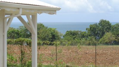Photo for beachfront villa between St. Rose and Deshaies sea view