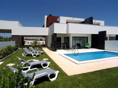 Photo for Contemporary Villa With Private Pool, Gardens and Private Car Park