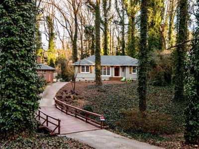 Photo for THE BRIDGE HOUSE OF ATLANTAIn-Town Enchanted Forest Retreat 3 BED/2 BATH