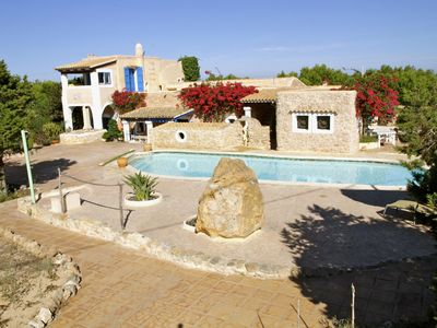 Photo for BEAUTIFUL SPANISH FINCA WITH PRIVATE POOL