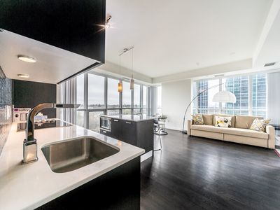 Photo for LUXURY CONDO DIRECT ACCESS TO SUBWAY   3 Beds   2 Bath