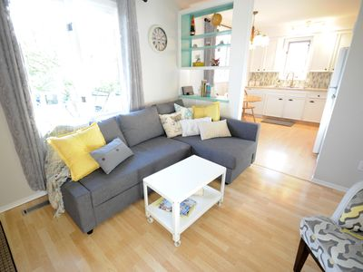 Photo for Main Level Apartment Close To Downtown, Sait And The Bow River