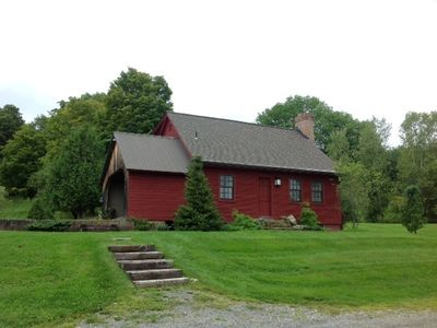 Photo for Country cottage with walks for your dogs filled with Vermont antiques and charm