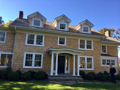Photo for NEWLY renovated stunning home --  THREE weeks Aug. 1--22) (4 BR; 4.5 BA)