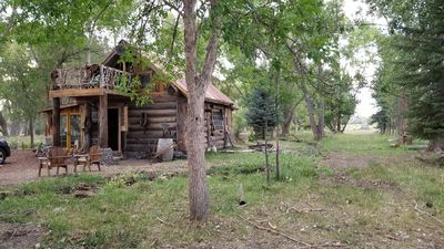Photo for Amazing rustic cabin on the Uncomphagre River