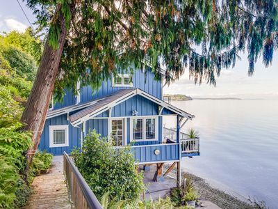 Bainbridge Is Beach Cottage 118 Low Bank Beachfront