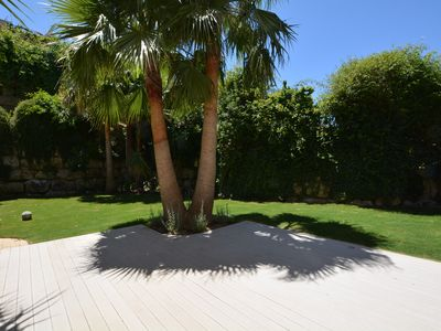 Photo for Very private 4 Bed Townhouse with sunny garden & terraces and stunning views