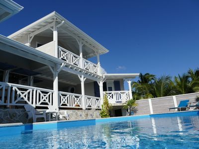 Photo for Guest room with panoramic views of the Caribbean Sea