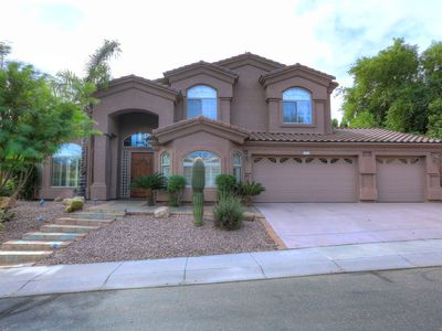 Photo for PRIVATE 5 BR GATED HOME w/ DUAL MASTERS, HEATED POOL, HBO+MORE!